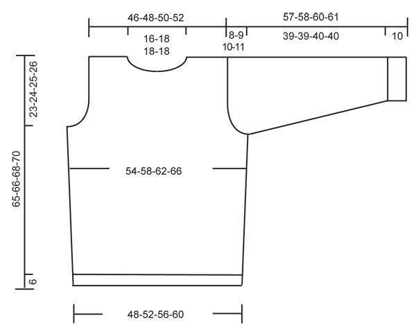 Pulóver básico DROPS para hombre y gorro en punto jersey, y bufanda ...