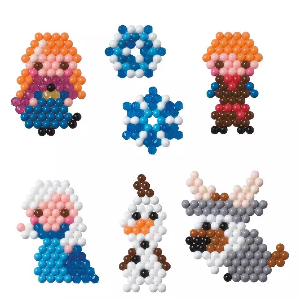 Epoch aqua beads polygon beads 16 colors set