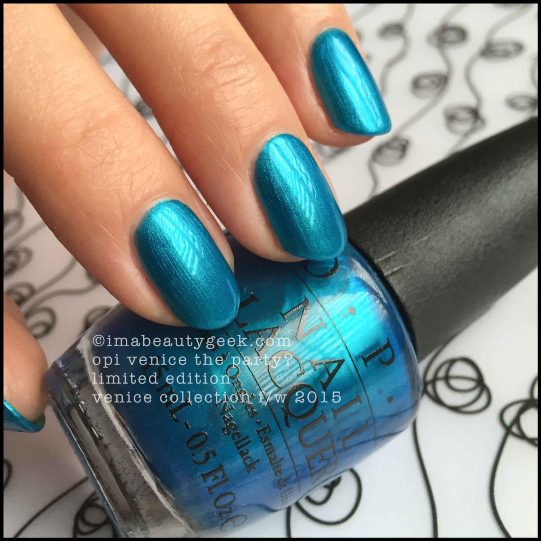 OPI VENICE LE SHADES & COMPARISONS | OPI, Diseños de uñas y Esmalte