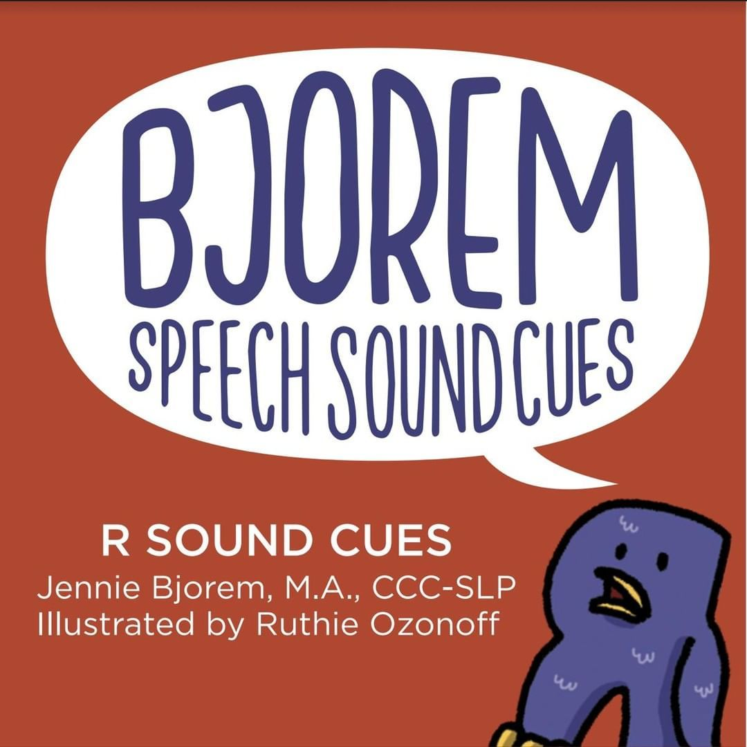 Bjoremspeech Posted To Instagram The R Sound Cues Will Be Out In November This Deck Of Cues Is A Smal Speech Childhood Apraxia Of Speech Speech And Language [ 1080 x 1080 Pixel ]