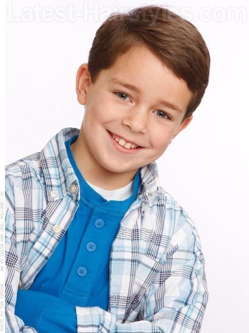 Boys Hairstyles 10 Super Cute Hairstyles For Boys Little Boy Hairstyles Boy Haircuts Short Cute Hairstyles For Boys