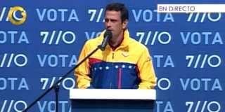 #Capriles' speech give hope of reconciliation in Venezuela.  The elections were lost, but did Venezuelans gain a change of mentality?      Declaraciones de #Capriles dan esperanza de reconciliacion.  Se perdieron las elecciones, pero se habra ganado un cambio de mentalidad?