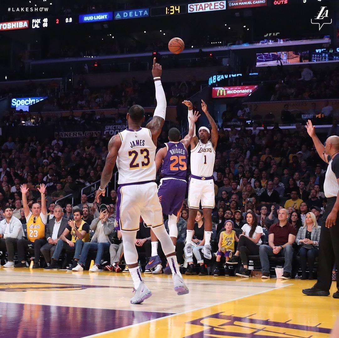 Los Angeles Lakers On Instagram Kcp Lebron James Los Angeles Lakers King James