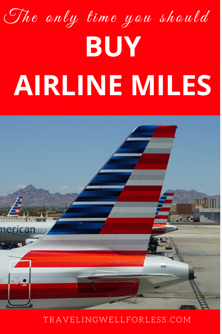 The Only Time You Should Buy Airline Miles Travel Tips Trip