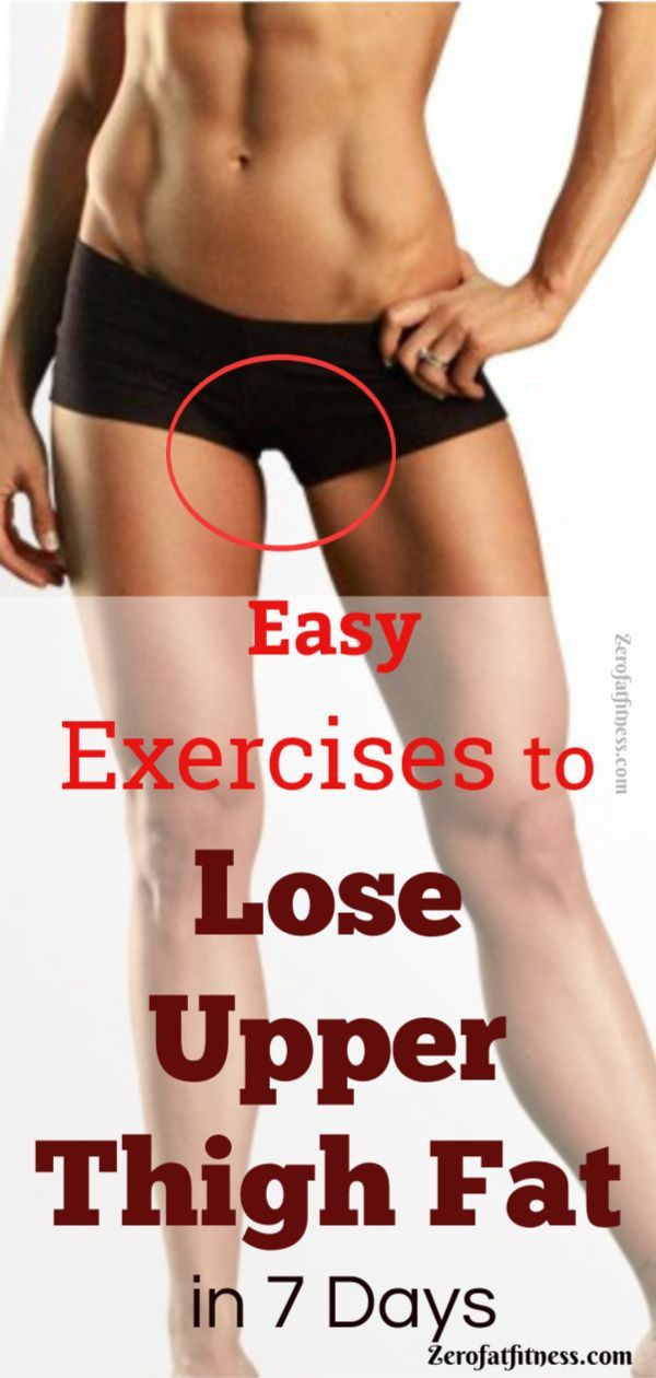 Easy Exercises to Lose Upper Thigh Fat in 7 Days. So if you are ready, let's get into the exercises...