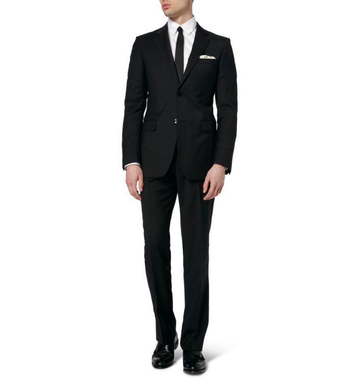 15 Wedding Tux Alternatives For Grooms Onewed Wedding Tux Wedding Dress Outfit Groom Tuxedo Black