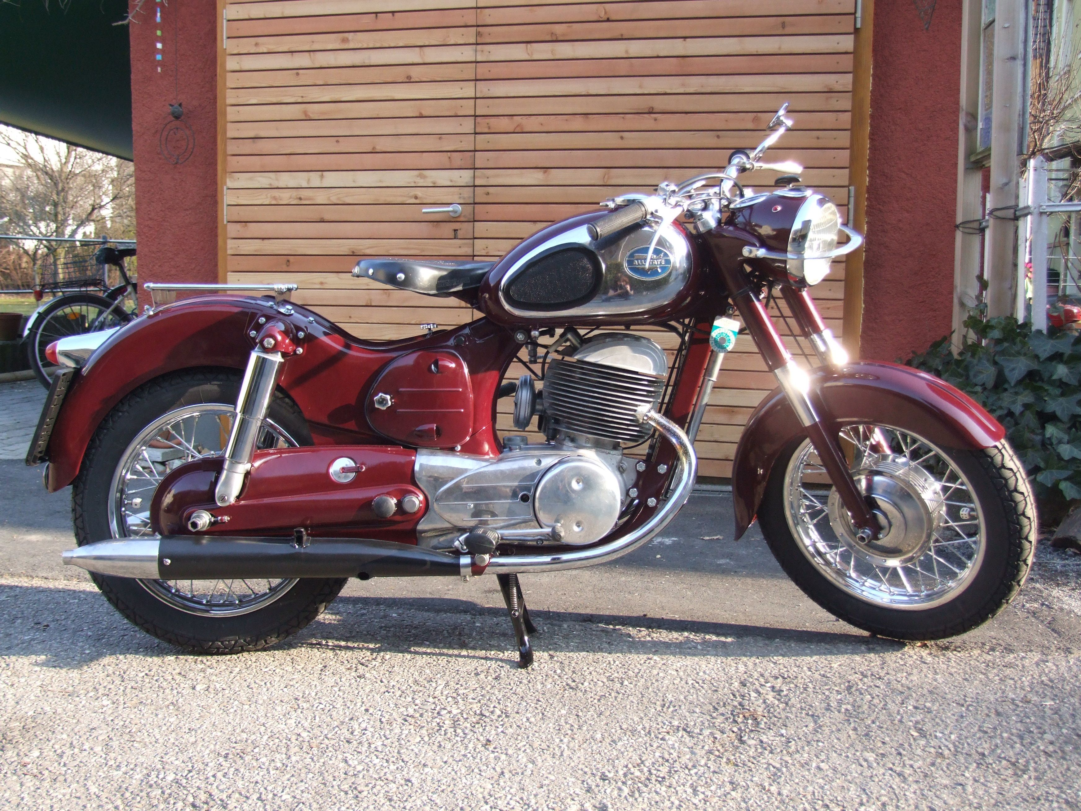 Allstate Puch 250 From 1956 Classic Motorcycles Vintage Bikes Vintage Motorcycles