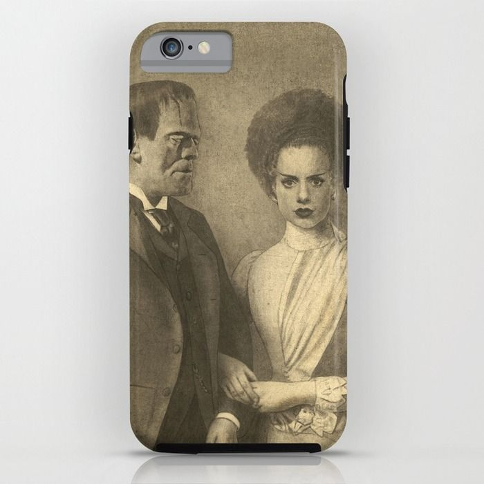 Mr. and Mrs. Frankenstein  iPhone & iPod Case