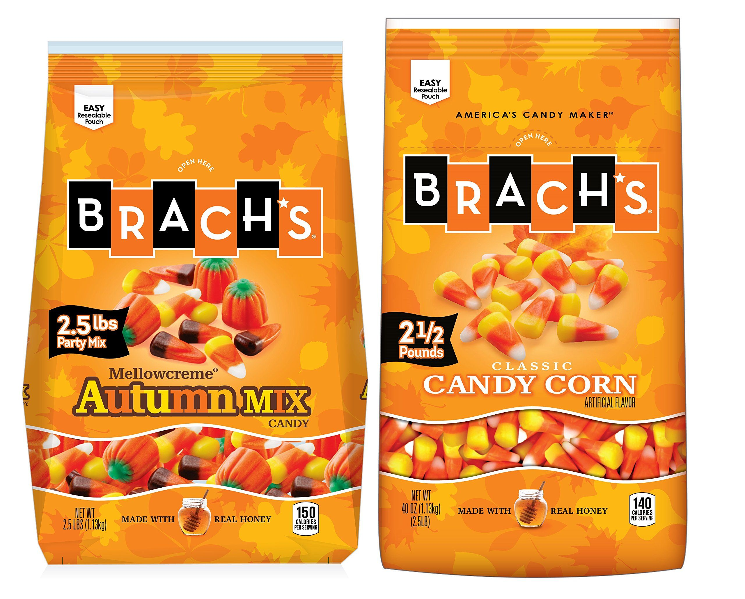 Brach's Candy Corn and Autumn Party Mix Duo, 2.5 Pound