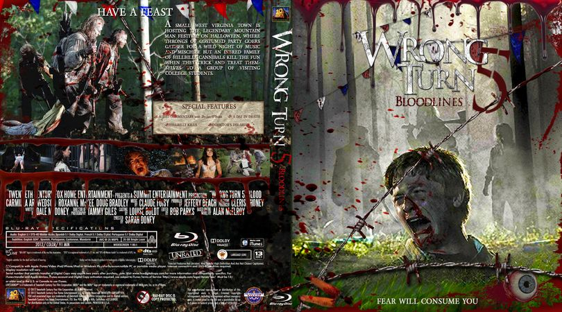 Wrong Turn 5 Dvd Cover