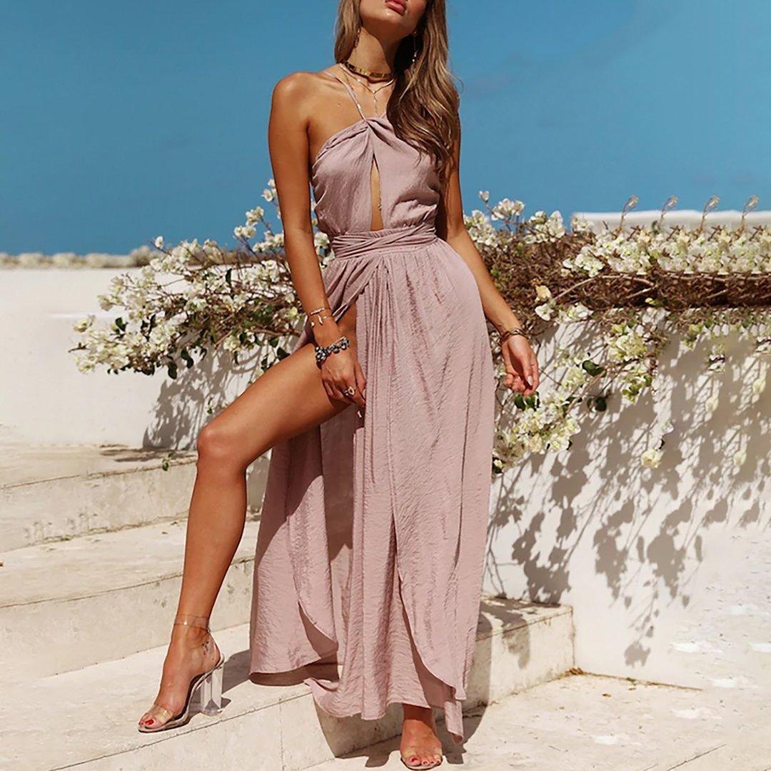 Beautiful Classy Long Prom High Low Wrap Maxi Dress Outfit Ideas For Women Dresses To Wear To A Weddi Maxi Dress Party Sleeveless Long Dress Women Long Dresses