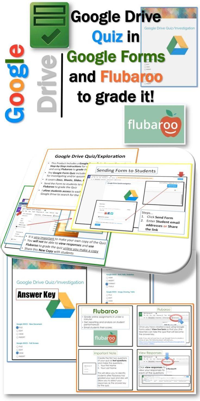 Google Drive Quizzes / Investigation | Google classroom ...