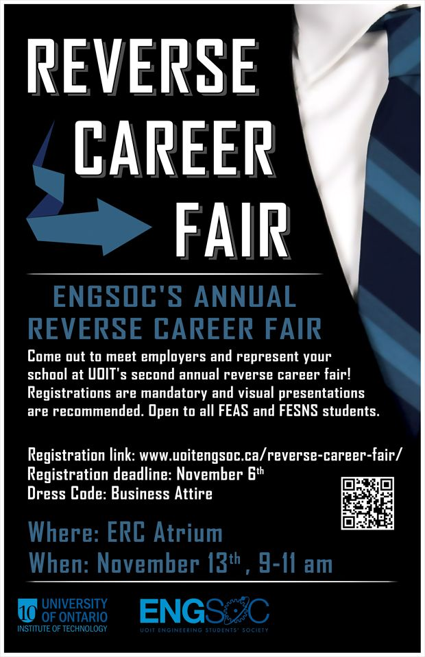 Reverse Career Fair Poster By Petertwl  Graphic Design