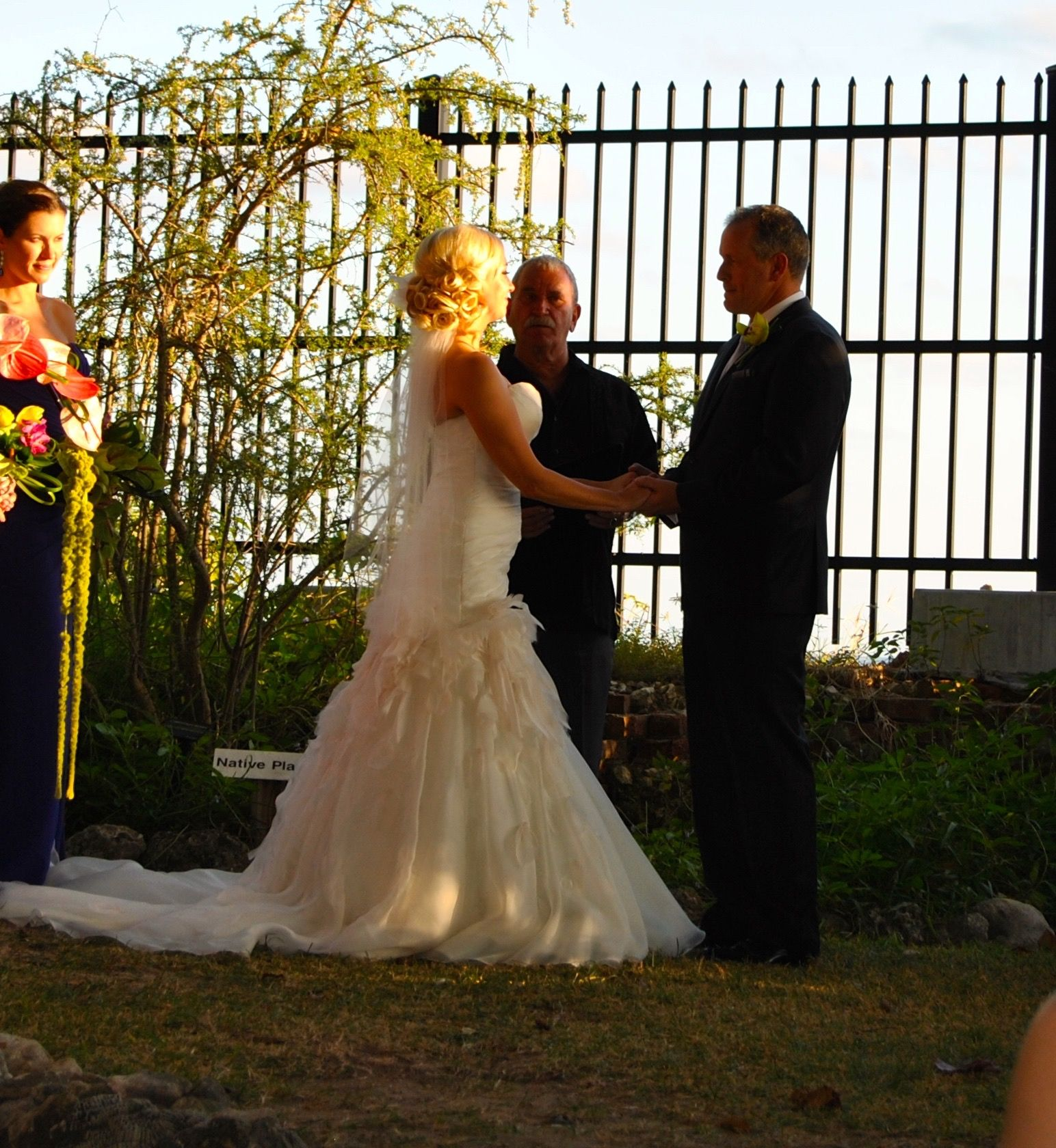 Key West Wedding Ideas: Key West Martello Tower/Botanical Gardens Wedding