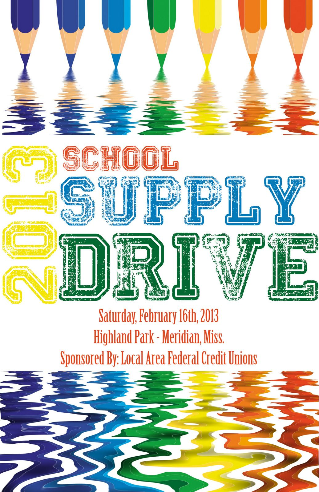 school supply drive flyer facebookDesignsByJMR – Can Food Drive Flyer Template