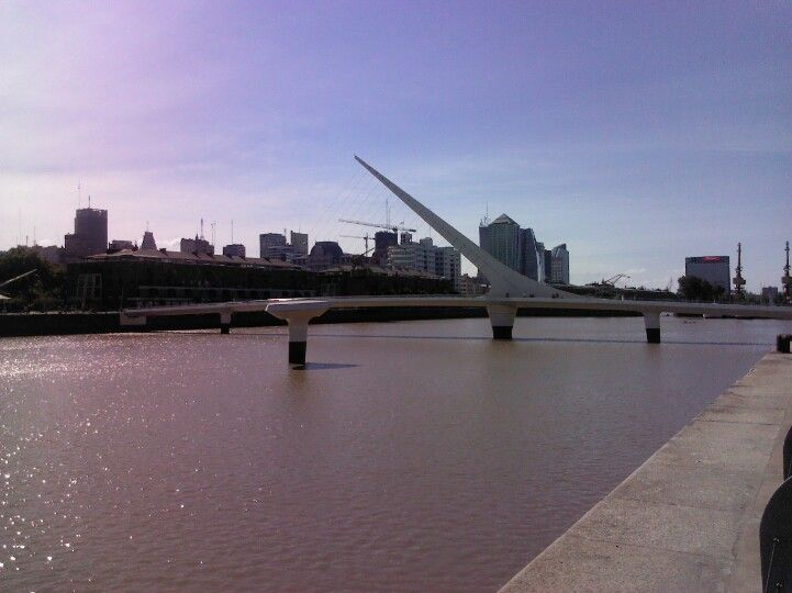 Puente de la mujer,Buenos Airea,Argentina