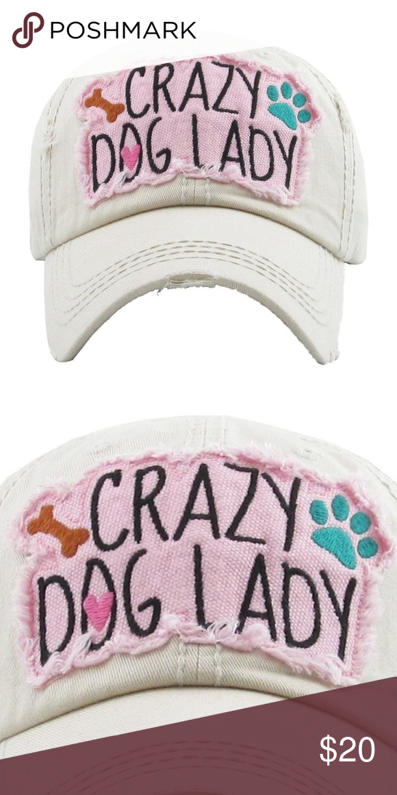 dc1104ff227 NWT  BOUTIQUE  NEW STYLE   CRAZY DOG LADY HAT   NWT     BOUTIQUE ...