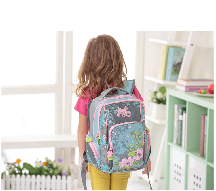 Russia Style Children School Backpacks for Girls Floral Pattern ...