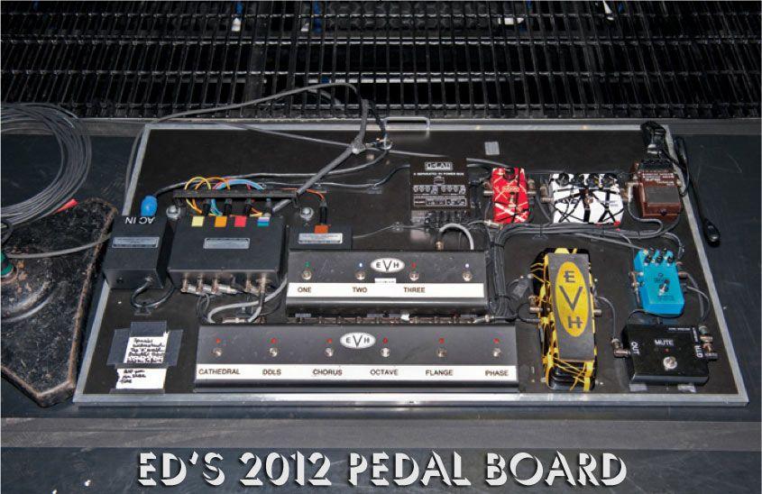 eddie van halen gear guide get the brown sound pmt online blog guitar rigs eddie van. Black Bedroom Furniture Sets. Home Design Ideas