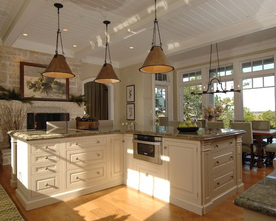 L Shaped Kitchen Islands Design Pictures Remodel Decor And