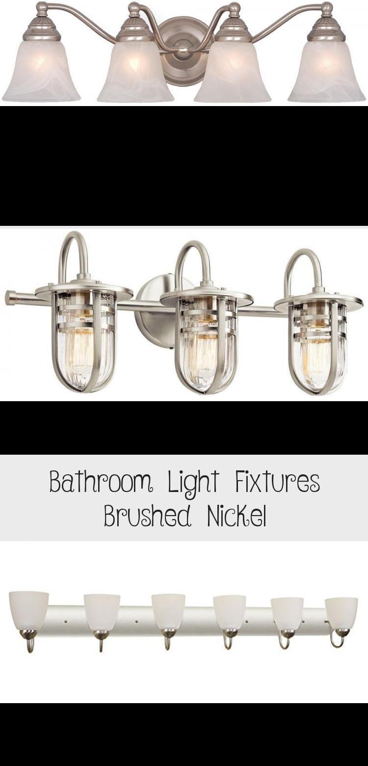 Photo of Bathroom lights brushed nickel – bathroom