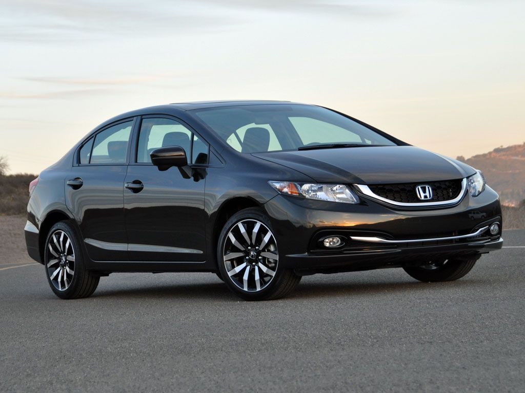 The 2014 Honda Civic Wallpaper