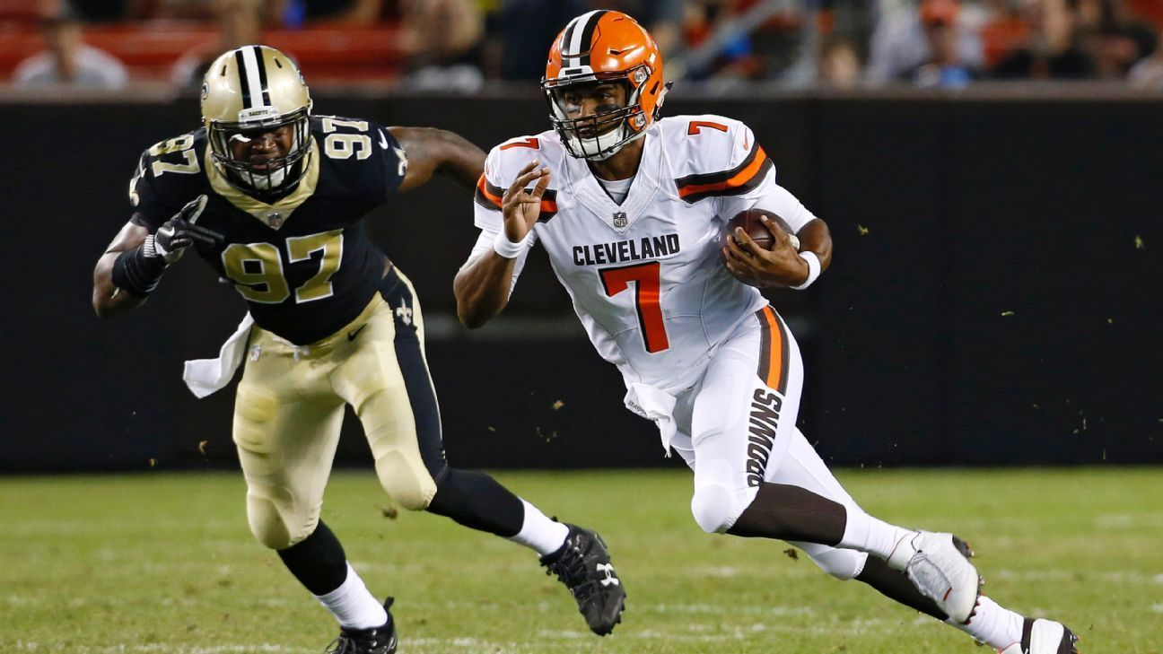 DeShone Kizer's late TD and second half revive Browns' QB