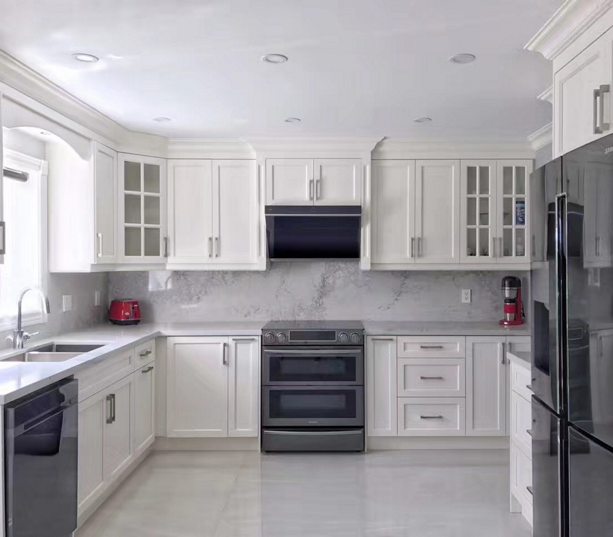 Jqg7501 Lifestyle1 Installing Cabinets Kitchen Hoods Range Hood