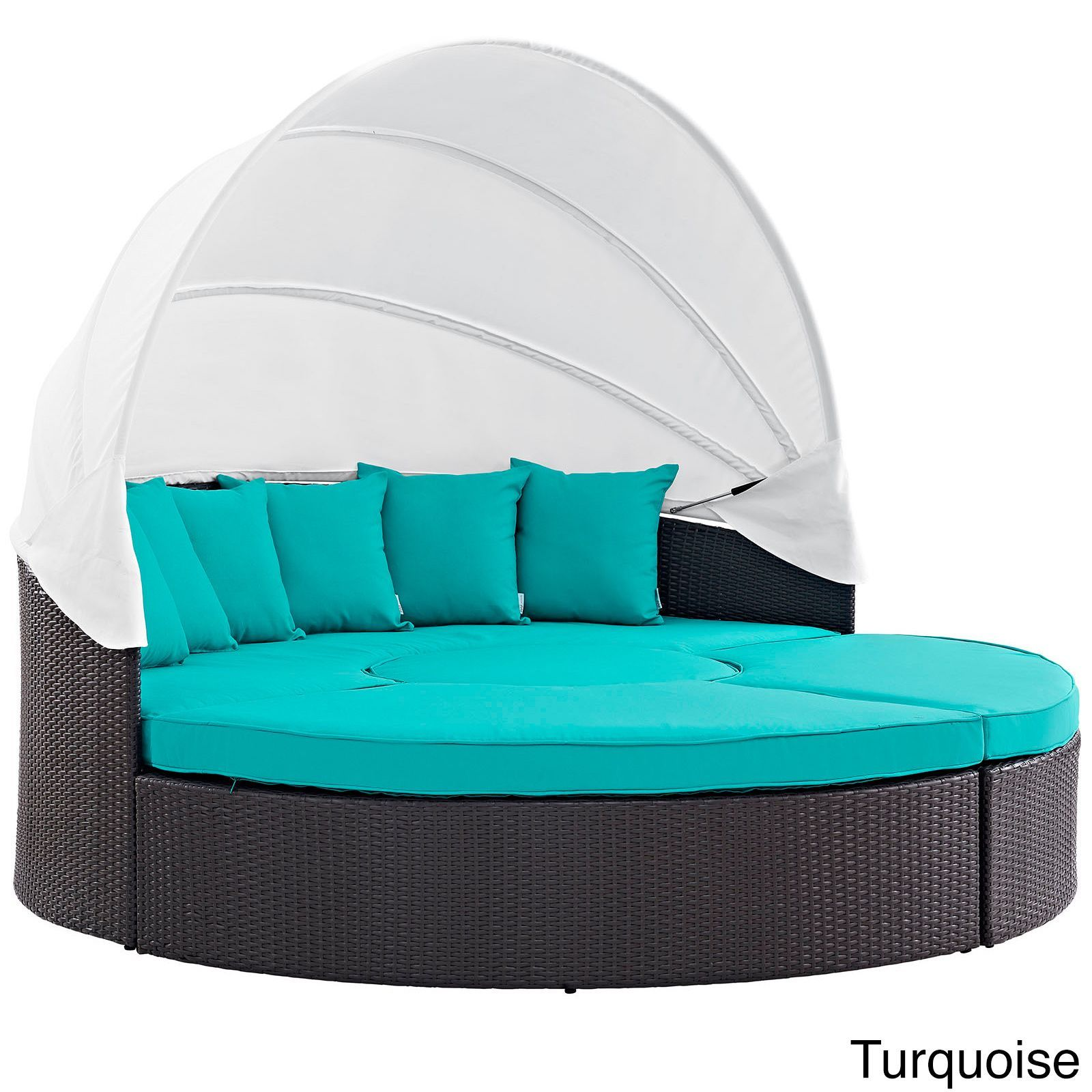 Awesome Lexmod Taiji Outdoor Wicker Patio Daybed
