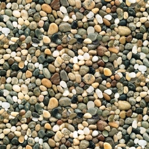 Landscape Medley Brown River Rock Pebbles Smooth Stones Cotton Fabric Landscaping With Rocks Landscape Fabric Rock And Pebbles