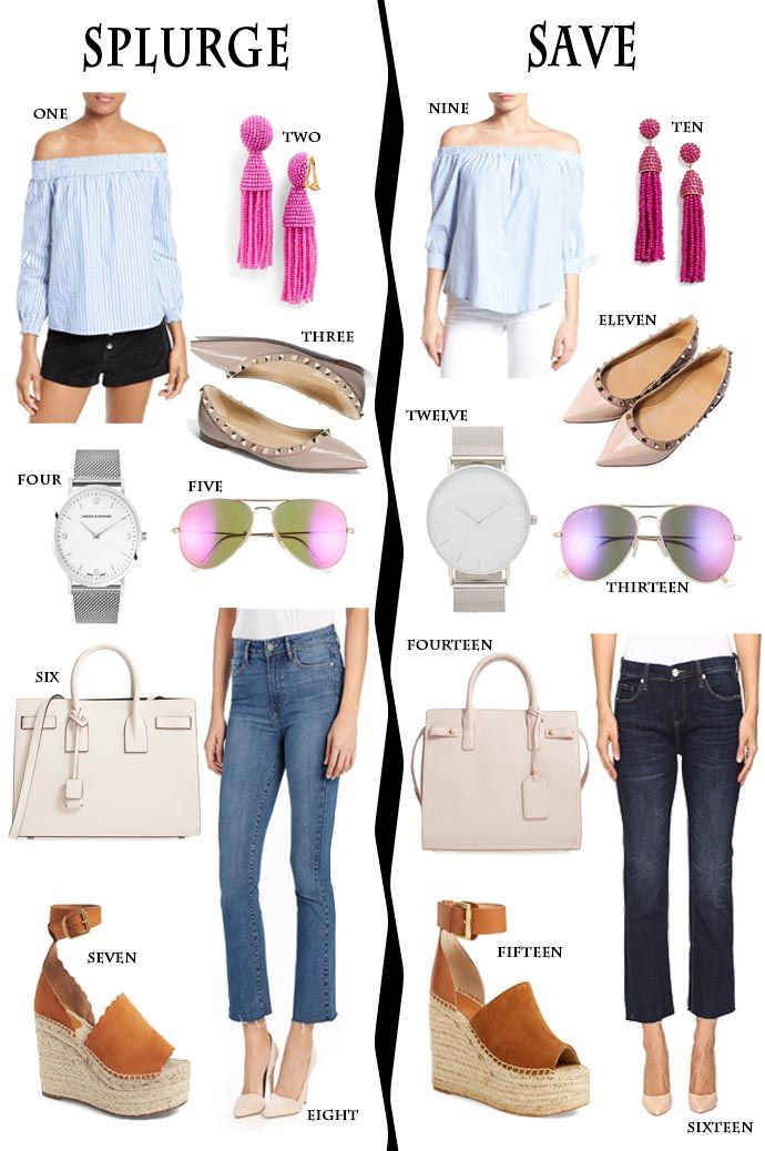 da6b25b51a Save: Favorite spring off the shoulder tops, shoes, accessories and  handbags and best designer dupes.