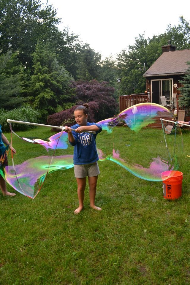 Butterfly Days: bubbles