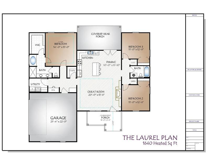 The Laurel Plan Etsy In 2020 Building Plans House How To Plan Floor Plan Layout