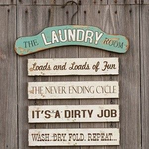 Wooden Laundry Signs For Home Funny Laundry Sign  Laundry Room Decor  Cute Laundry Room Signs