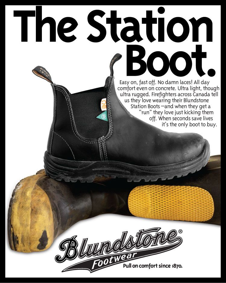 The Blundstone CSA Station Boot | Nothing Beats Boots | Pinterest ...