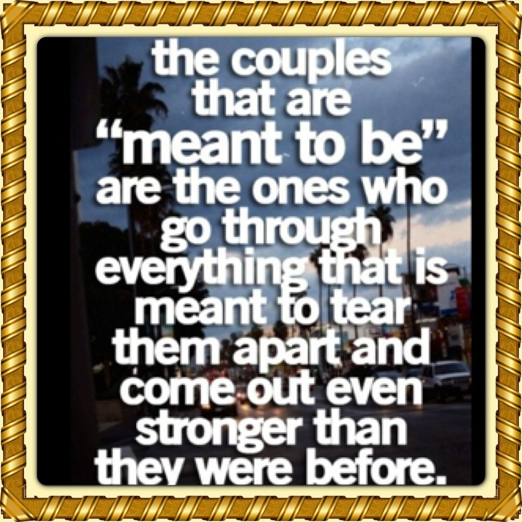 Yessir This Is Us We Have Been Thru Alot And Are So Much Stronger