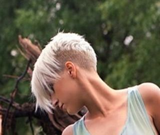 "Евгения Панова on Instagram: ""#pixie #haircut #short #shorthair #h #s #p #shorthaircut #blondehair #b #hair #blondeshavemorefun #platinumhair #blonde #haircuts"""