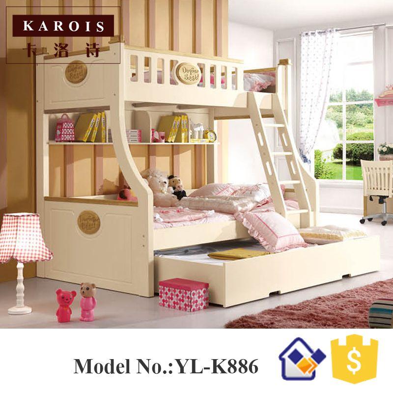 Letto A Castello Nuovo.1 5 M Nuovo Stile In Legno Per Bambini Letto A Castello Kids