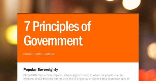 Popular Sovereignty DEFINITION:Popular Sovereignty is a form of ...