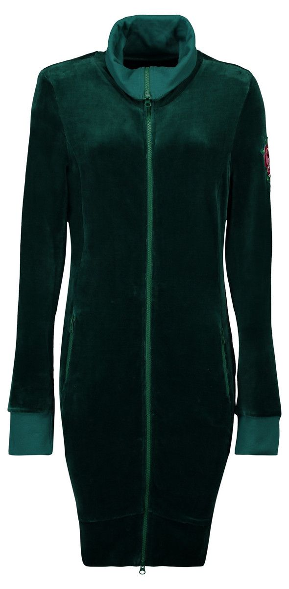 Tante Betsy Sweatvest Lotte Nicky Solid Green AW19 | Jackets