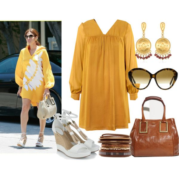 Eva Mendes in Chloè!, created by monst.polyvore.com