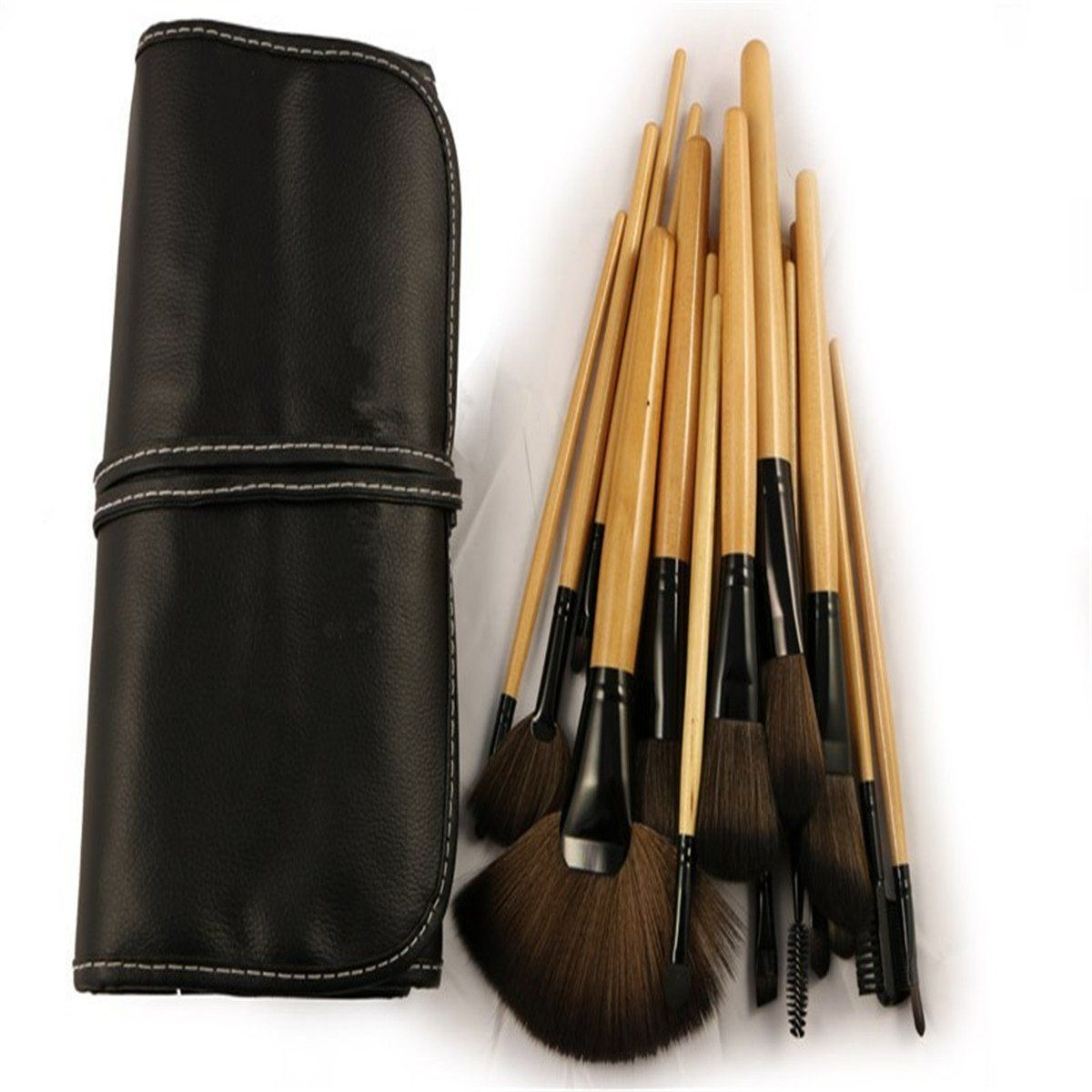 Vedar Beauty Professional 24Pcs Brushes Set Tools Easy
