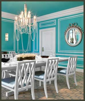 What About Tiffany Blue And White For The Loft I May Even Be Able To Get Us A Can Free Since Know Someone Who Did Room This Color