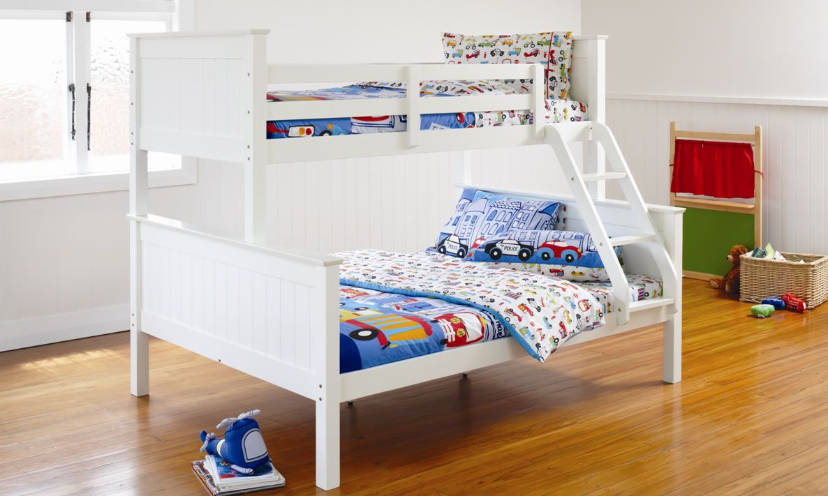 Kids Bedroom Furniture Nz Selena Bunk Bed By Nero Furniture Harvey Norman New Zealand