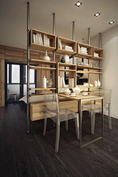biblioth que cloison cloisons s parateurs pinterest la biblioth que studios et cloisons. Black Bedroom Furniture Sets. Home Design Ideas