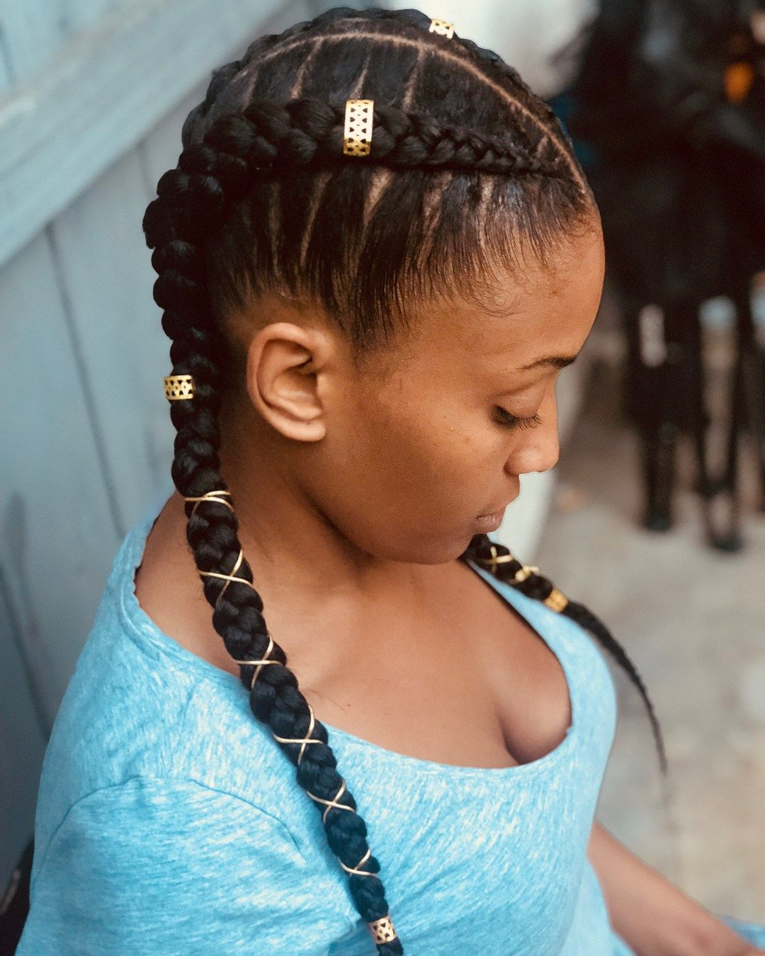 60 inspiring examples of goddess braids | beautiful me in