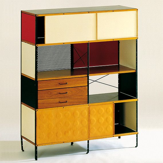 Perfect Charles And Ray Eames   ESU (Eames Storage Unit) 421 C   1949