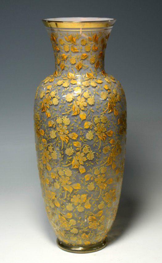 Moser Vase : Lot 29