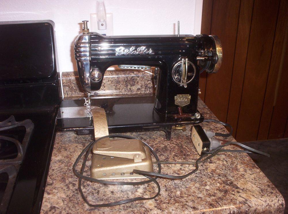 Vintage Bel Air 40 Sewing Machine Nr Vintage Machines Enchanting Belair Sewing Machine