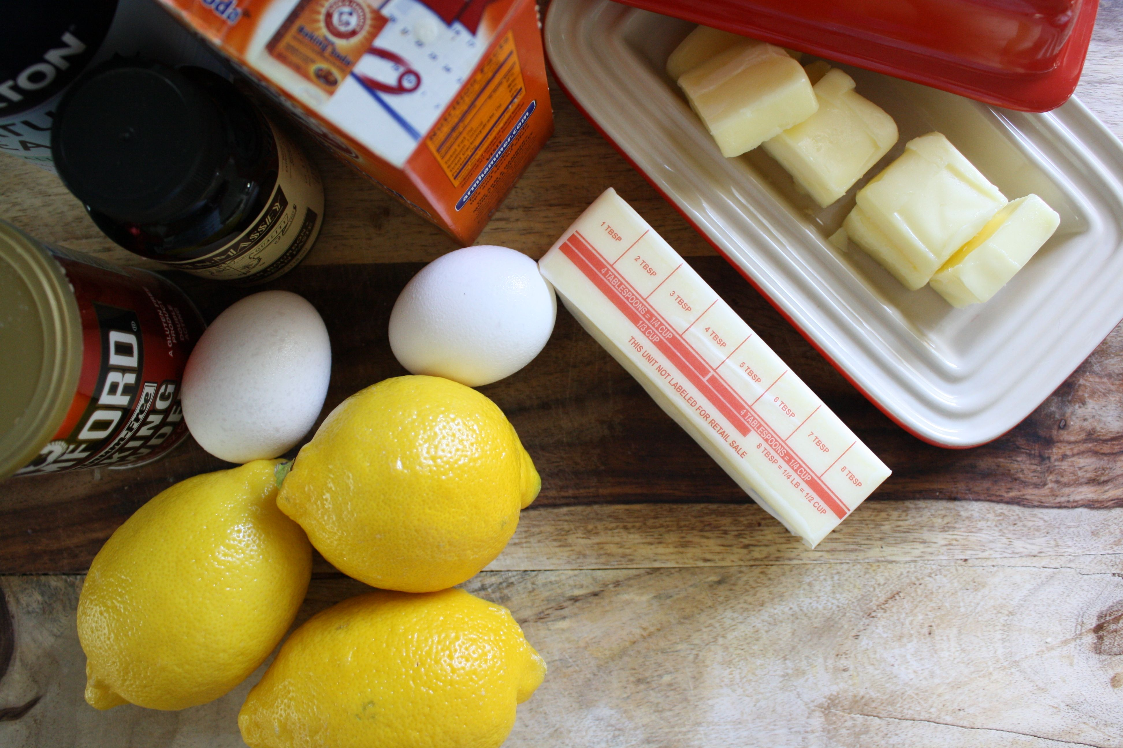 Glazed Lemon Crinkle Cookies